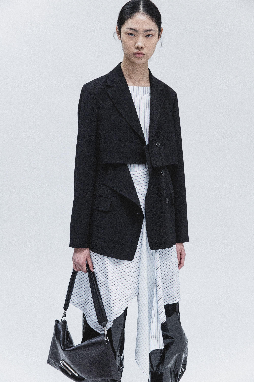 Удлиненный пиджак трансформер