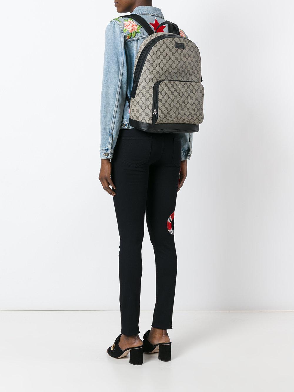 Городской рюкзак текстильный