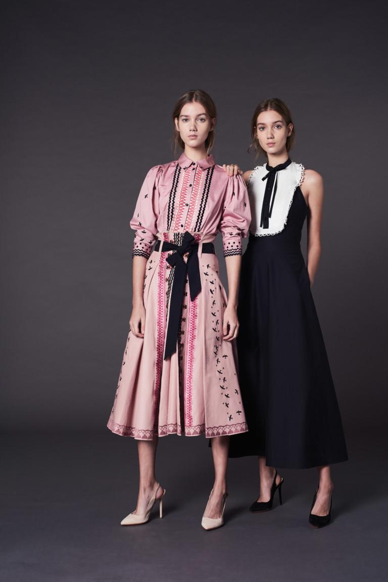Новогодние платья в английском стиле