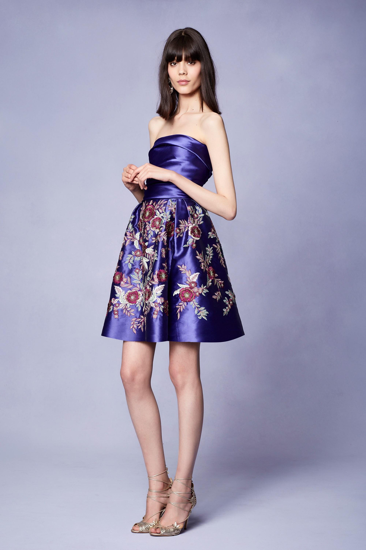 Атласное платье на новый год 2018
