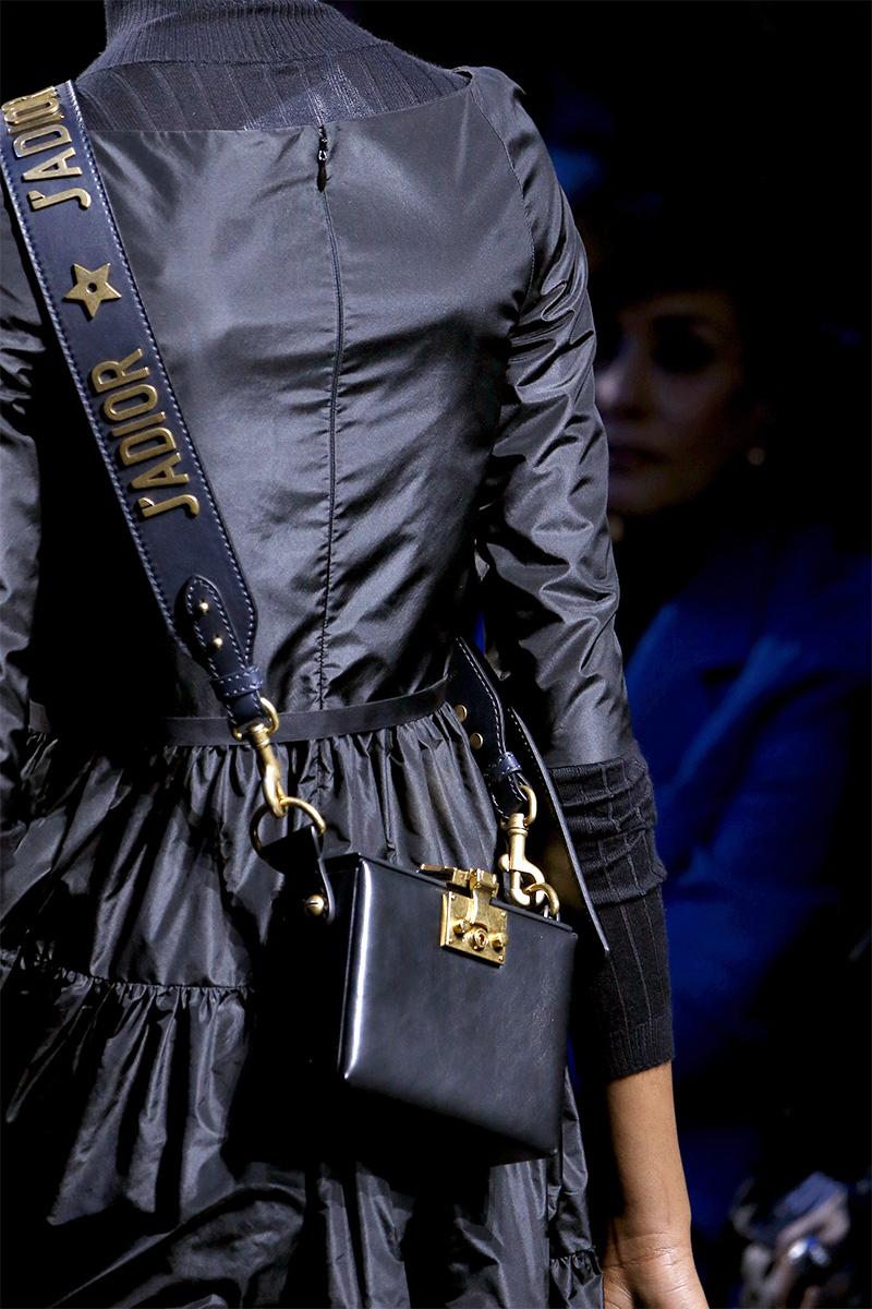 Черная сумка dior 2017