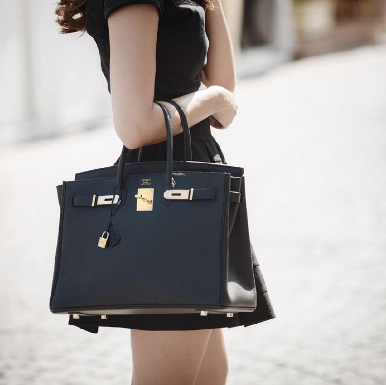 Деловая сумка черная