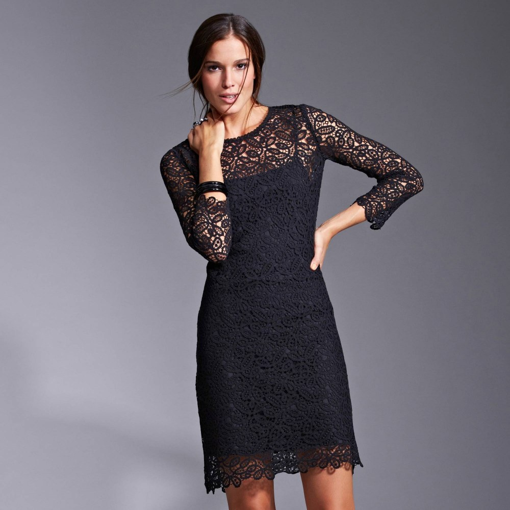 Платье на новый год 2018 черное