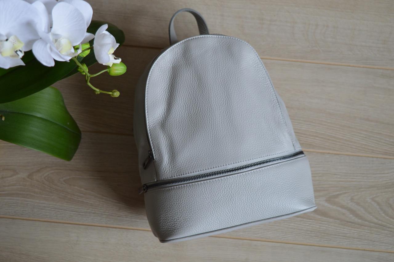 Серый рюкзак классический