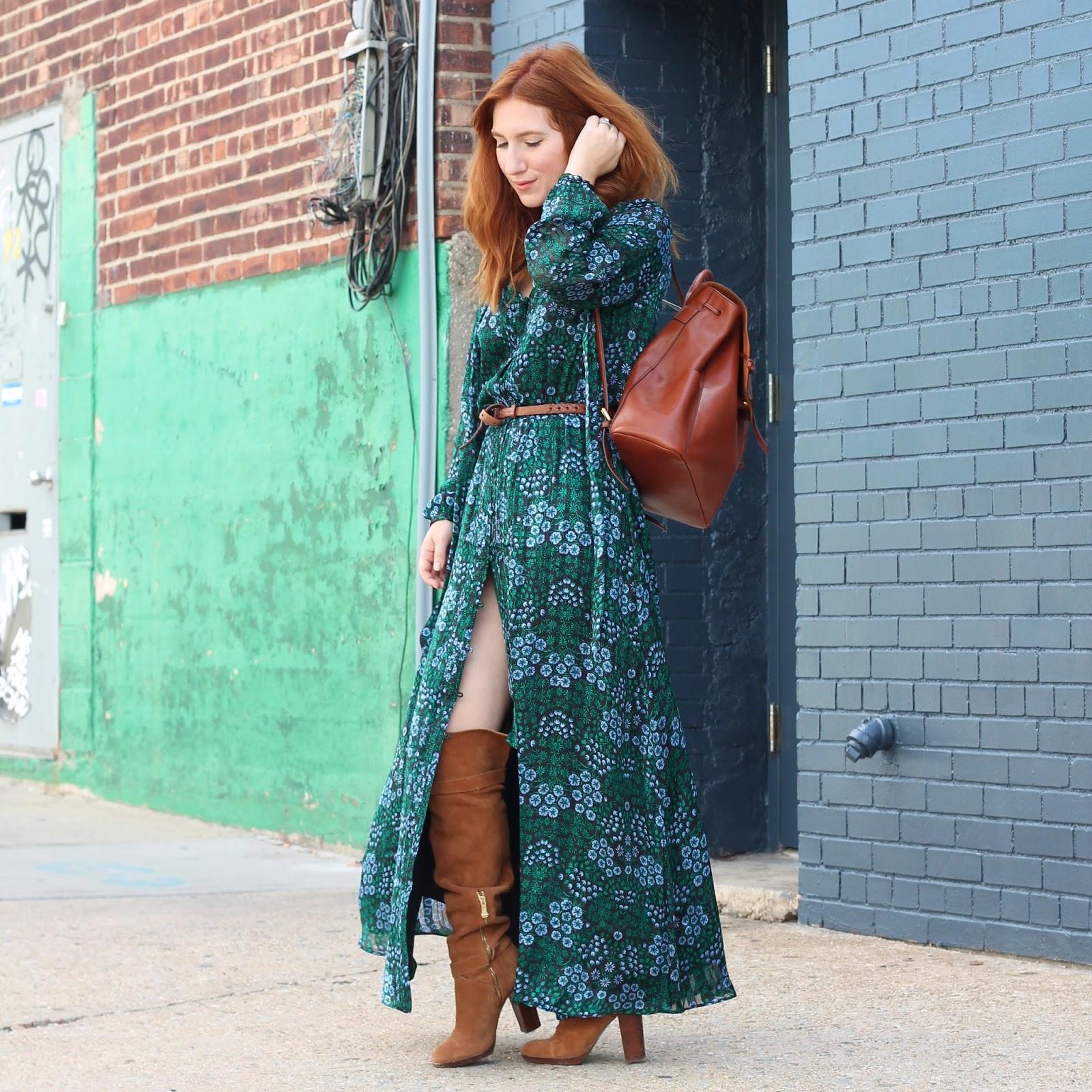 Кожаный рюкзак коричневого цвета