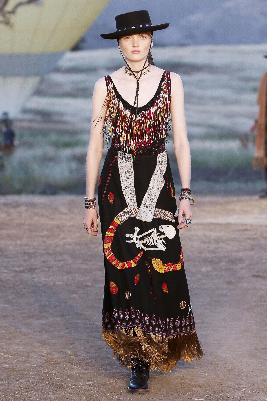 Этническое платье dior 2017