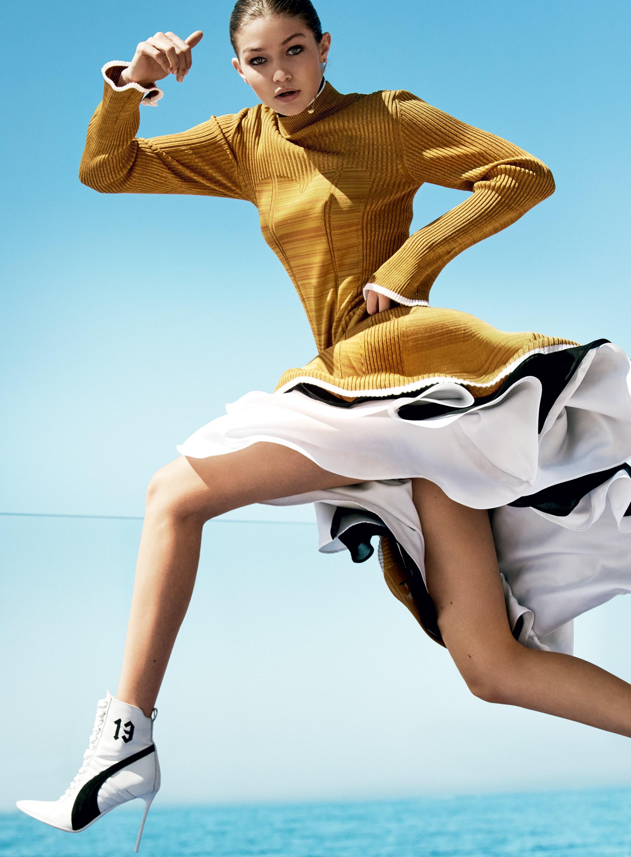Джиджи Хадид фотосессия Vogue