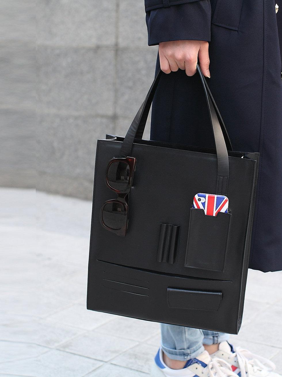 Деловая сумка с карманами