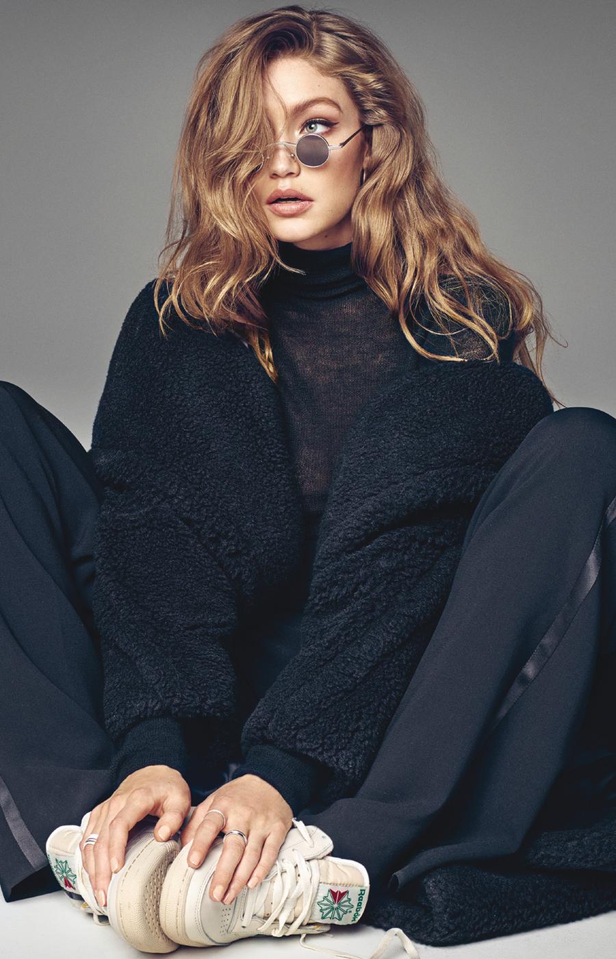Джиджи Хадид Vogue Korea