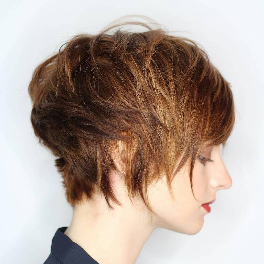 Пикси на короткие волосы 2018