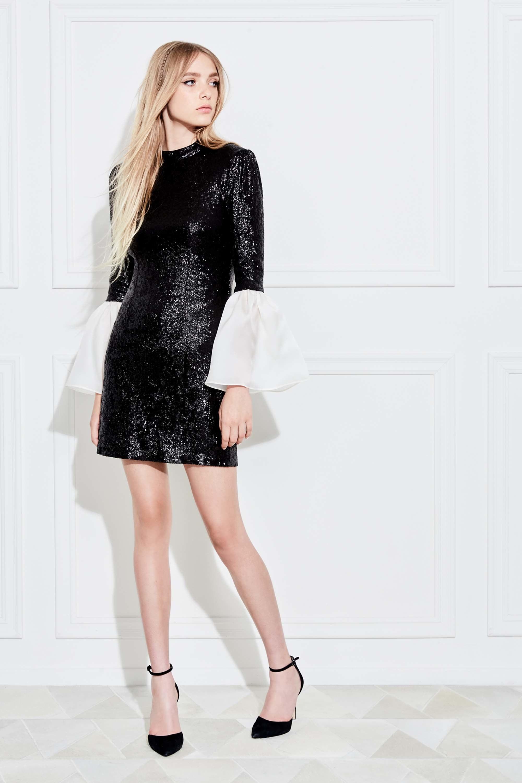 Платье короткое на новый год 2018