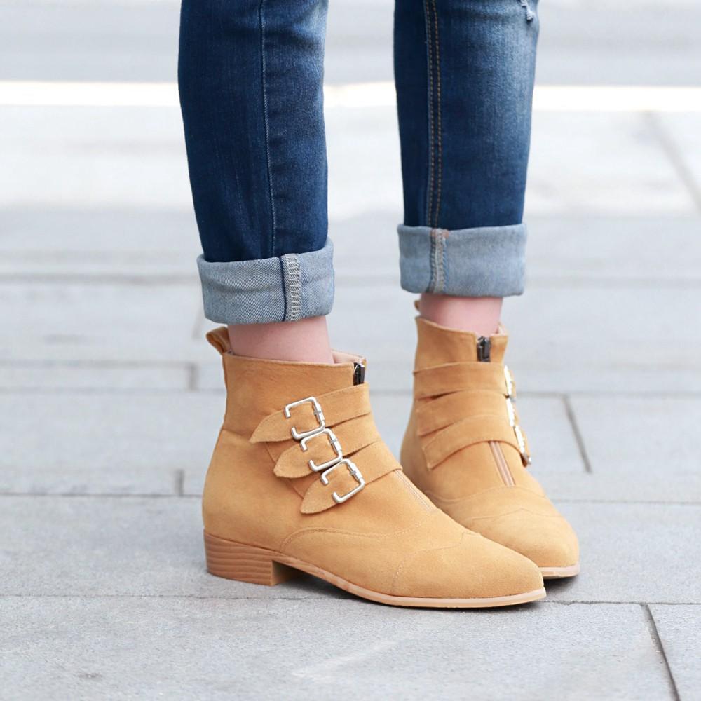 Ковбойские желтые ботинки