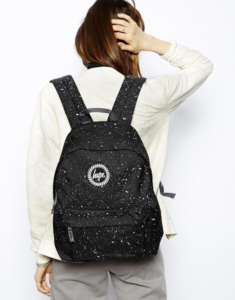 Городской рюкзак с брызгами краски