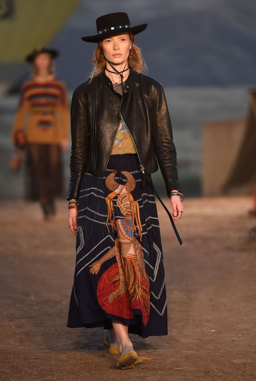 Кожаная куртка Dior 2017