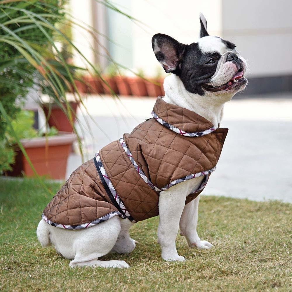 Зимний комбинезон для собак на липучке