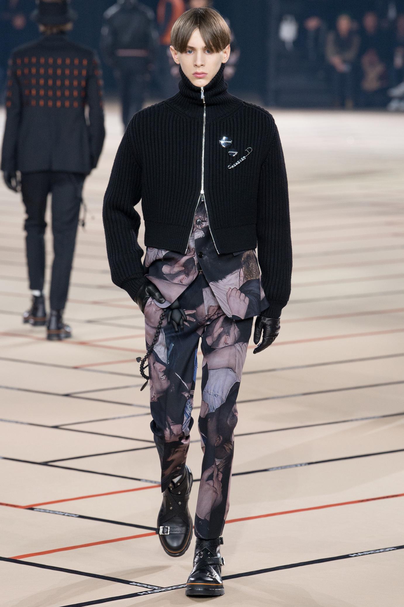 Мужской свитер Dior 2017