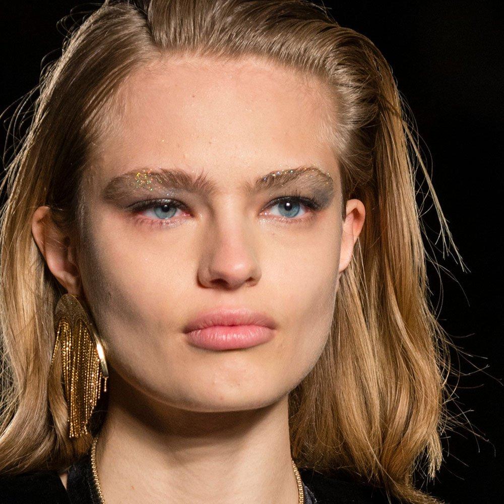 Нюдовый макияж на новый год 2018
