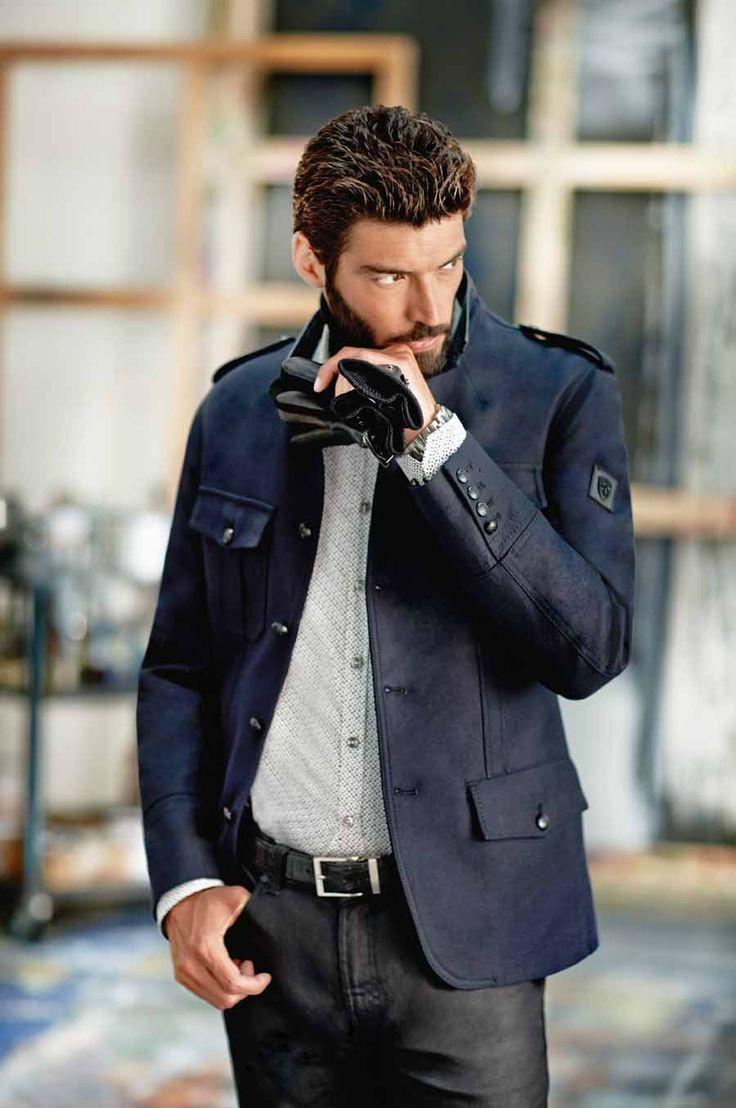 Мужские осенние перчатки