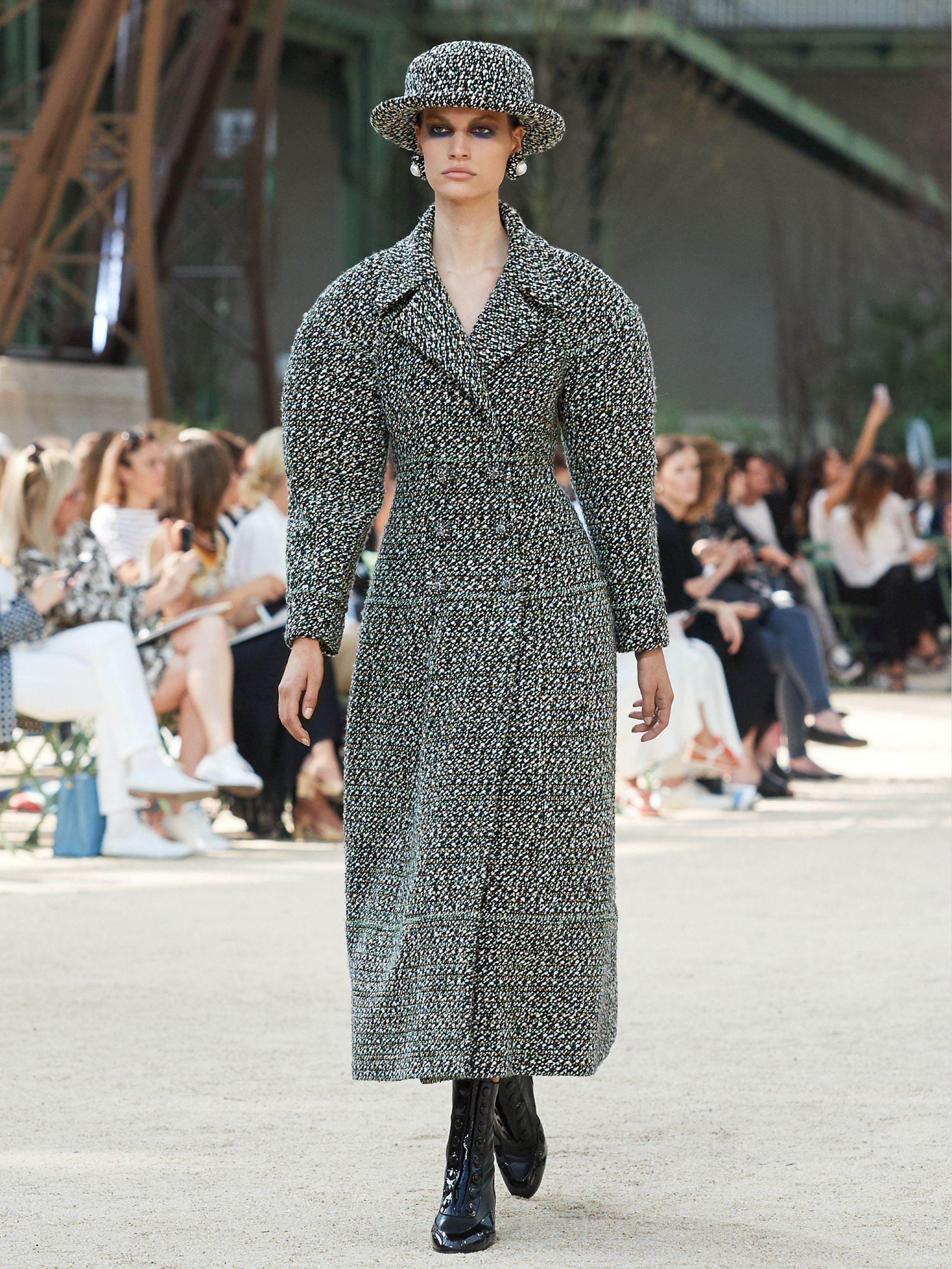 Шанель 2017 пальто женское