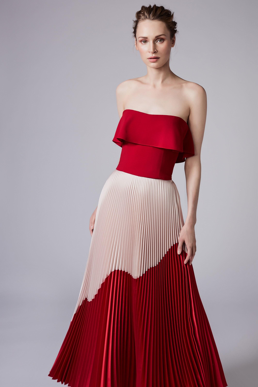 Платье плиссе на новый год 2018