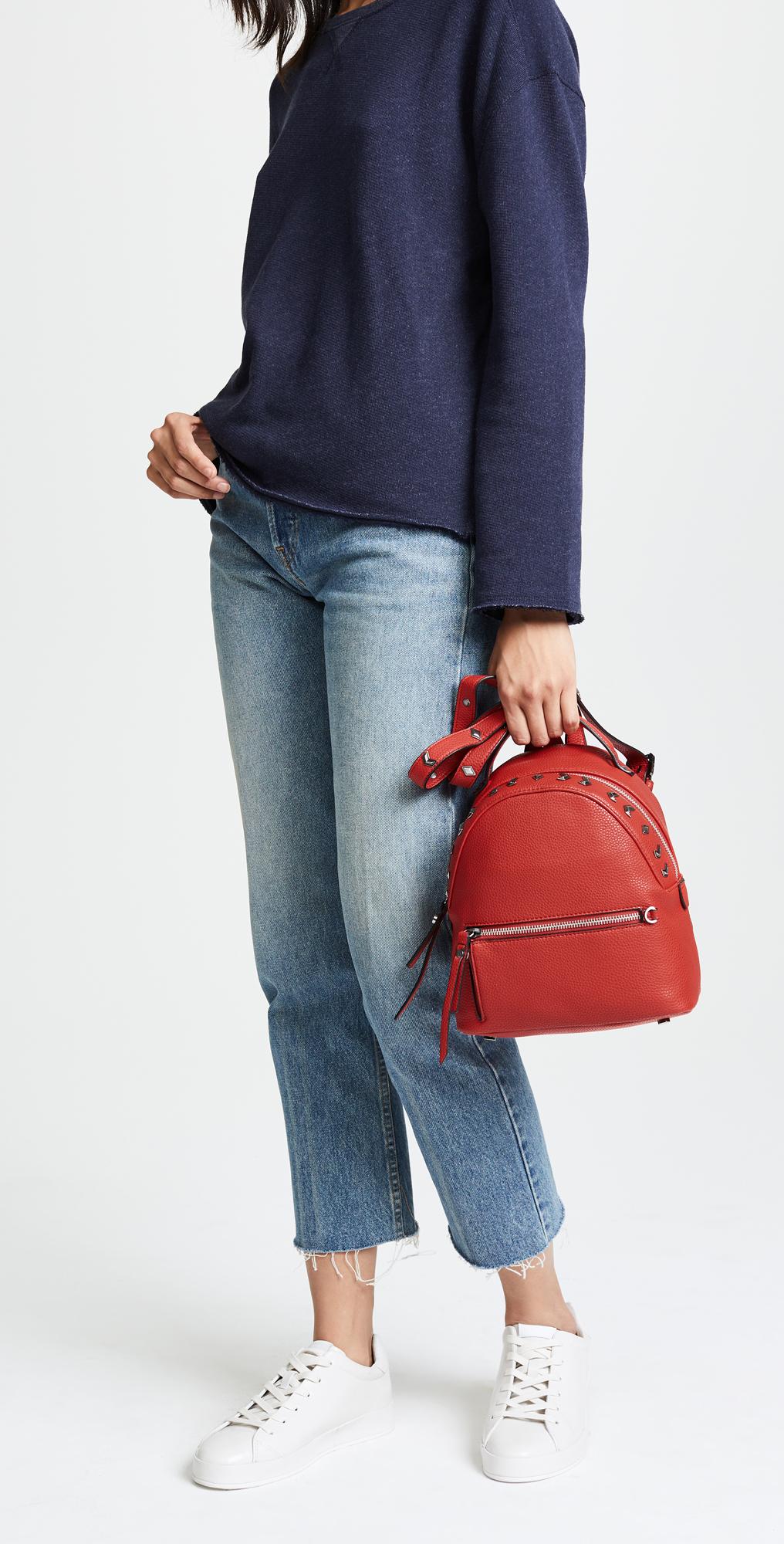 Маленький рюкзак полукруглый