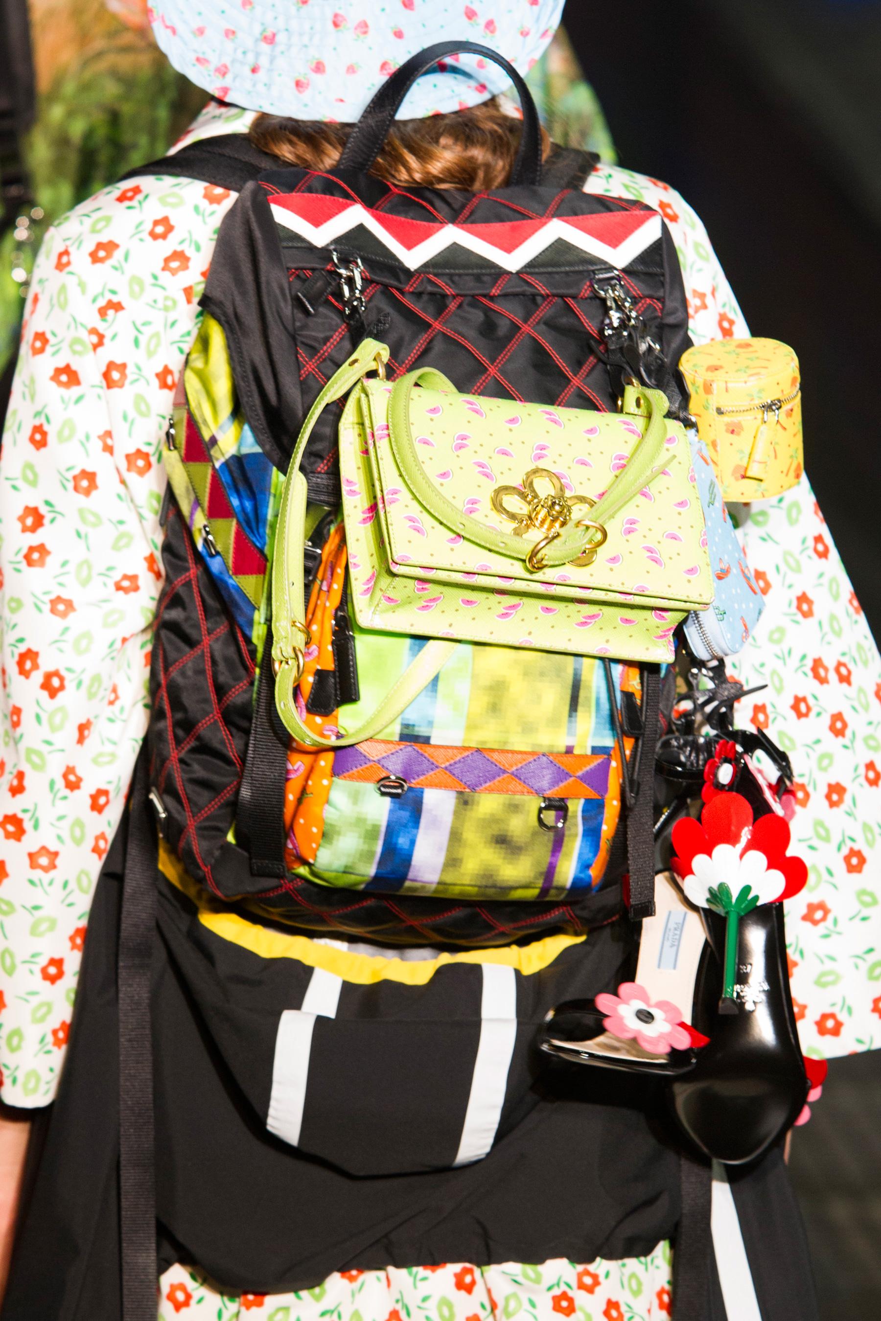 Городской рюкзак Prada