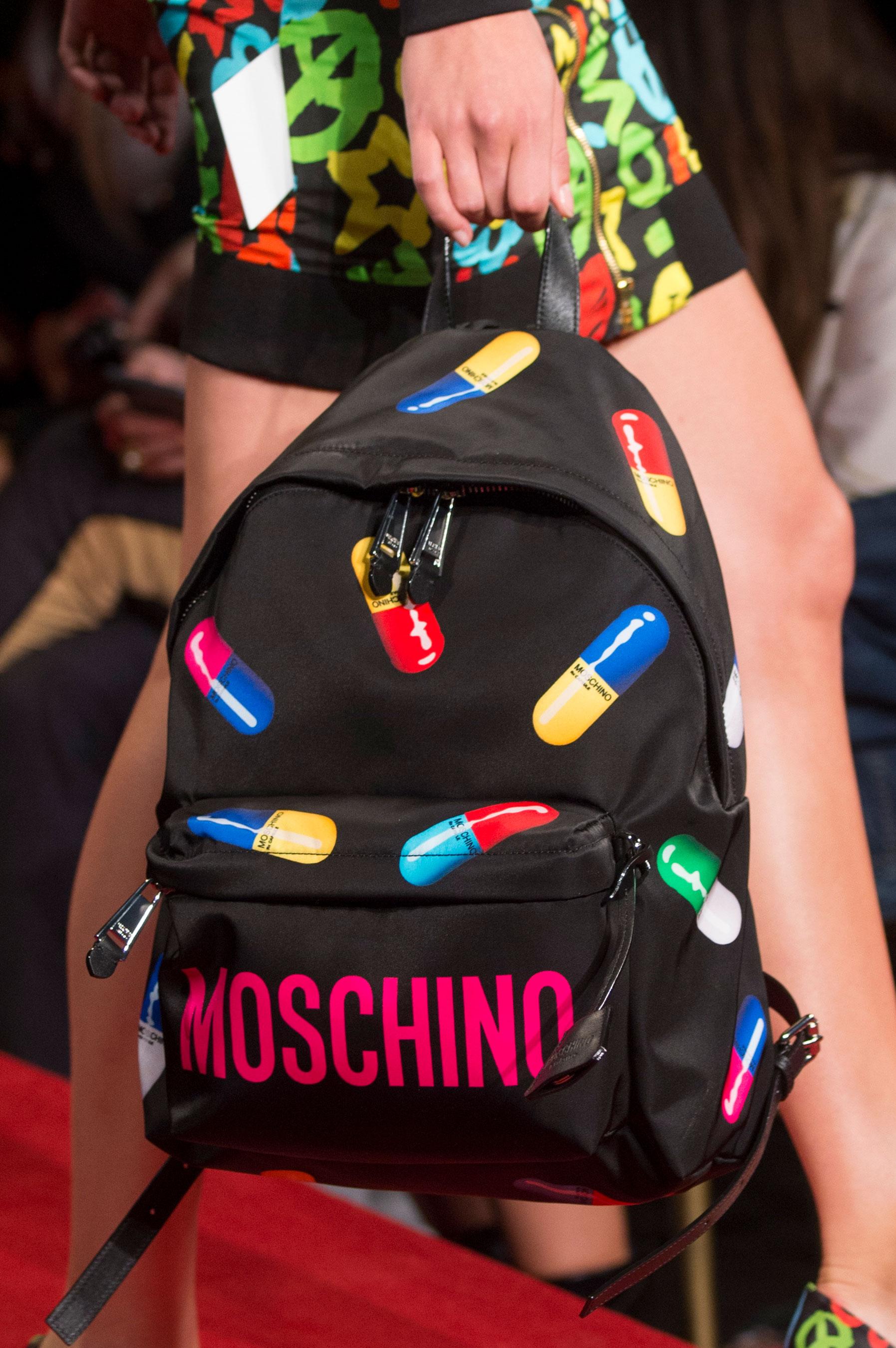 Городской рюкзак с принтом