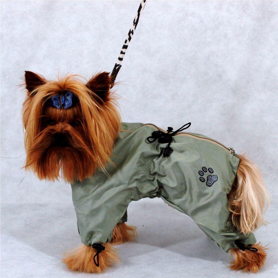 Зимний комбинезон для собак на резинке