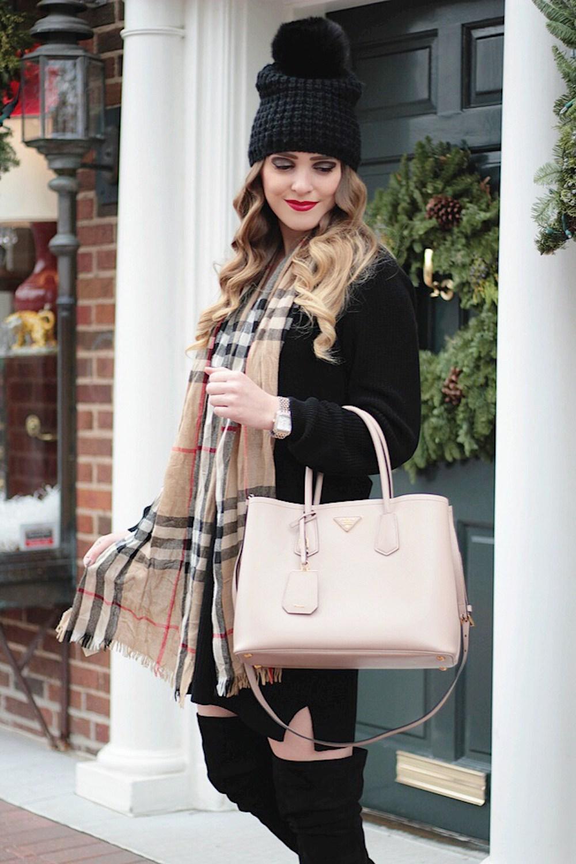 Деловая сумка розовая