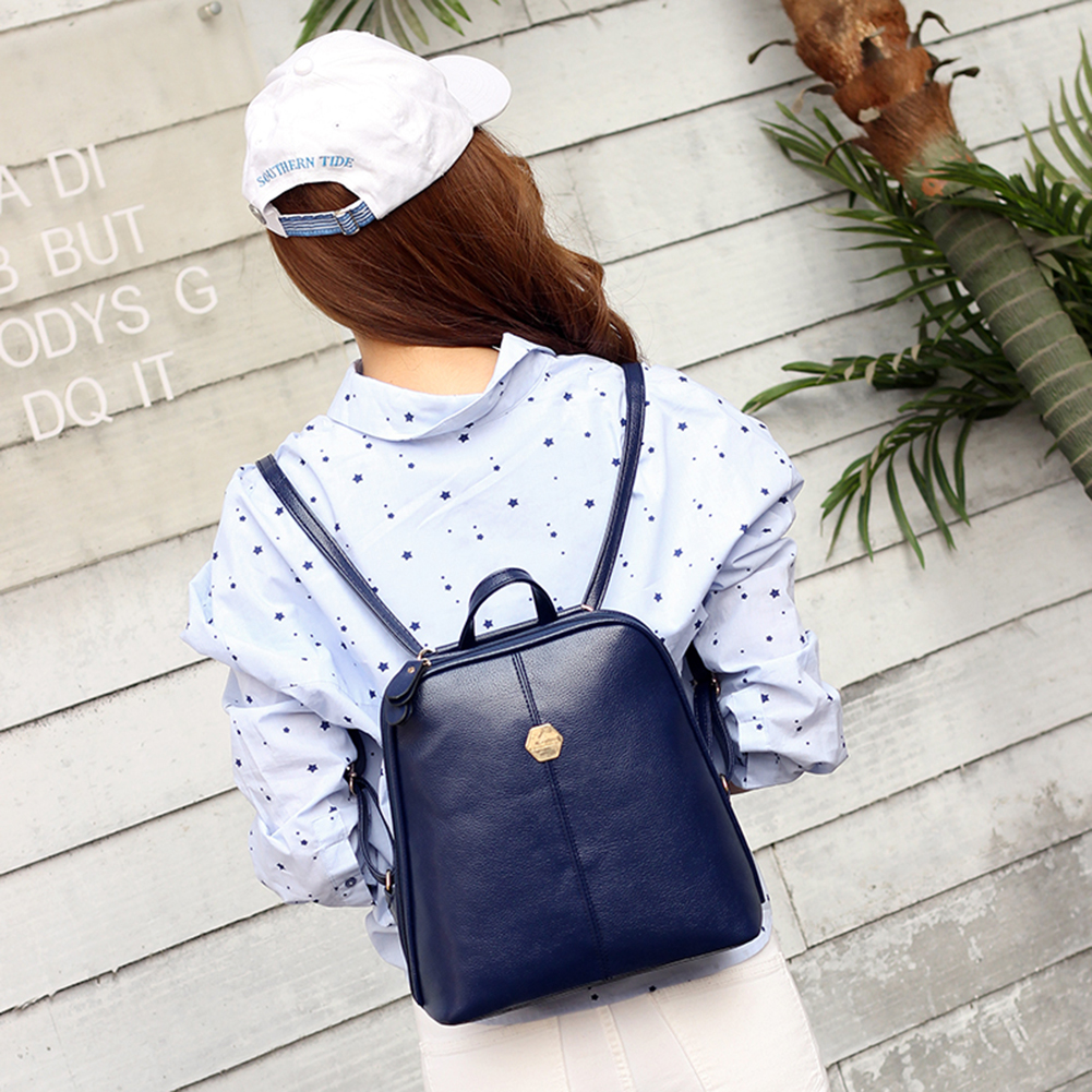 Маленький рюкзак синий