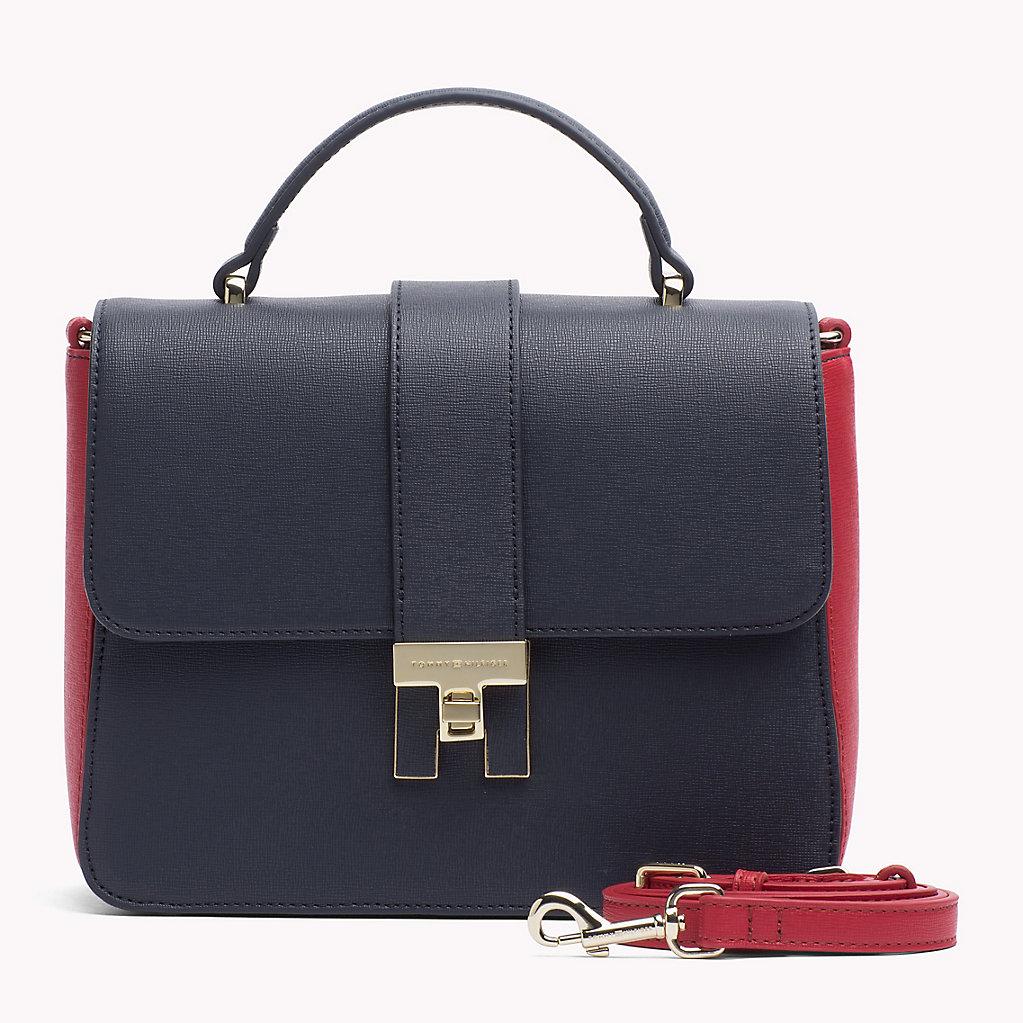 Синяя сумка Tommy Hilfiger