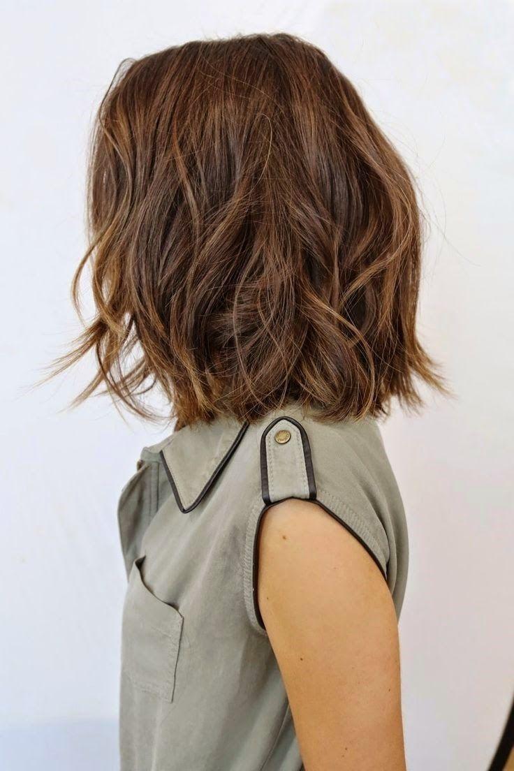 Каре на средние волосы 2018