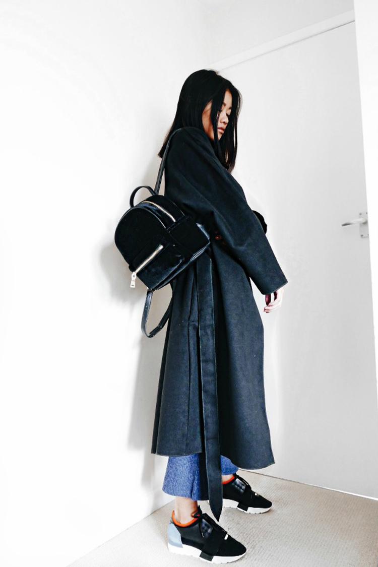 Маленький рюкзак темный