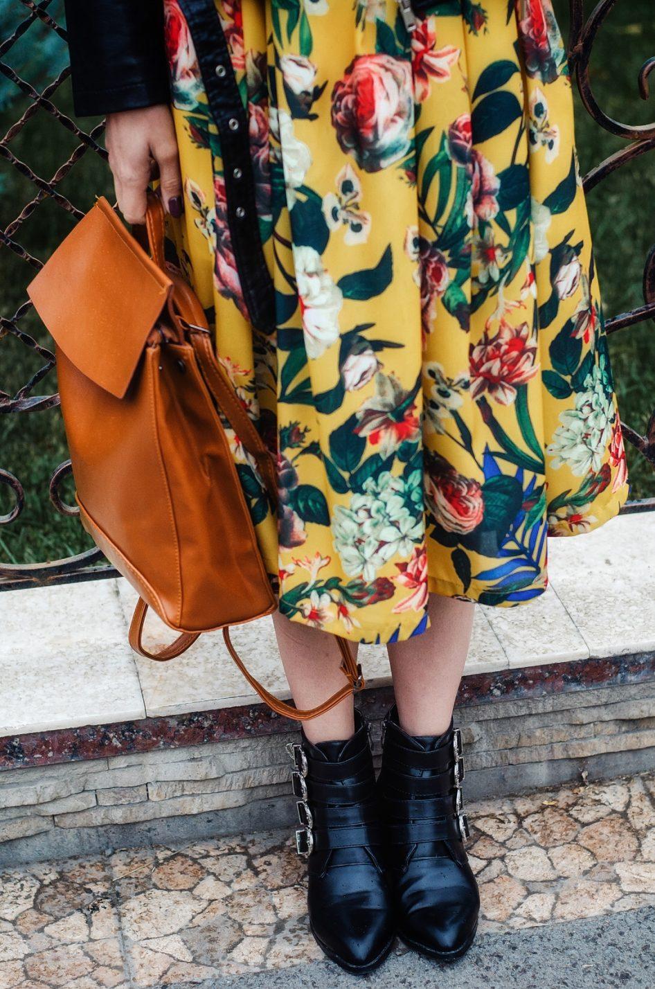 Кожаный рюкзак терракотовый