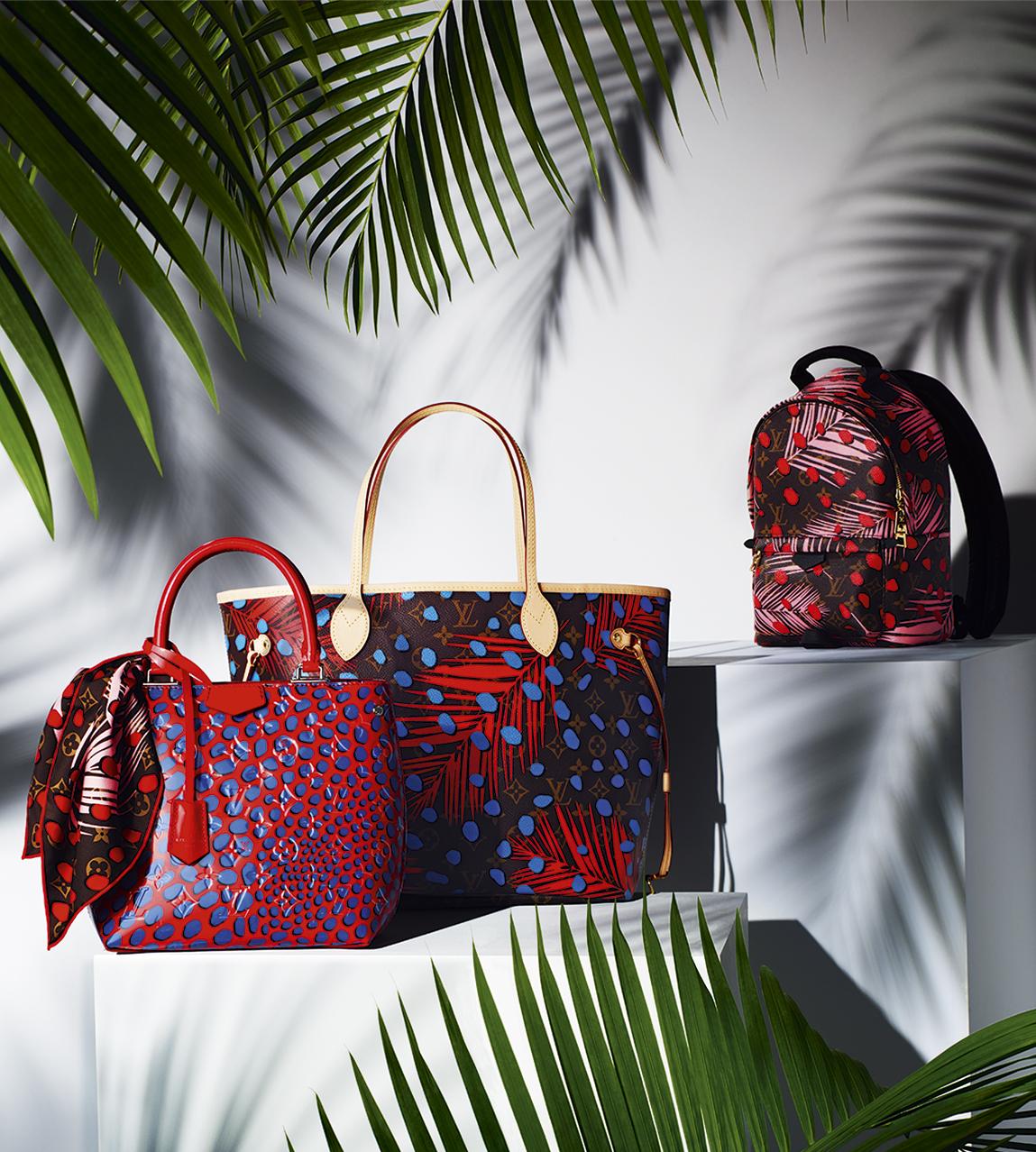 Городской рюкзак в тропическом стиле