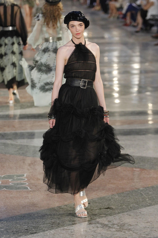 Шанель 2017 вечернее платье