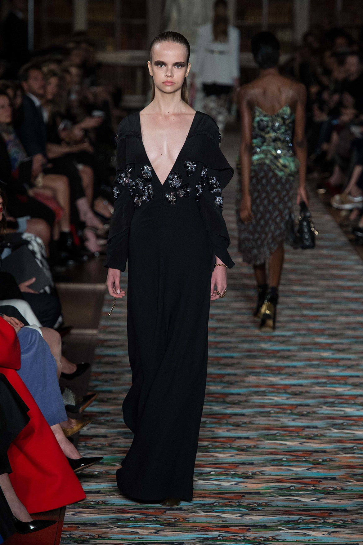 Вечернее платье Dior 2017