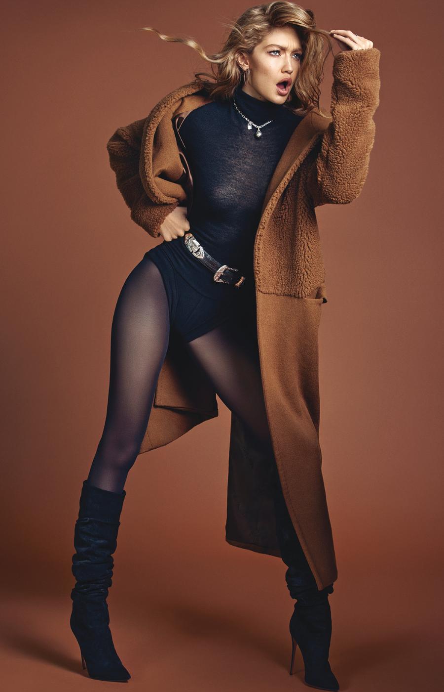 Джиджи Хадид Vogue