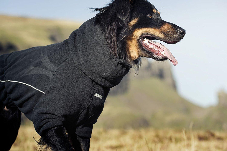 Зимний комбинезон для собак с воротником