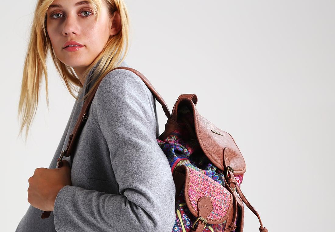 Городской рюкзак яркий