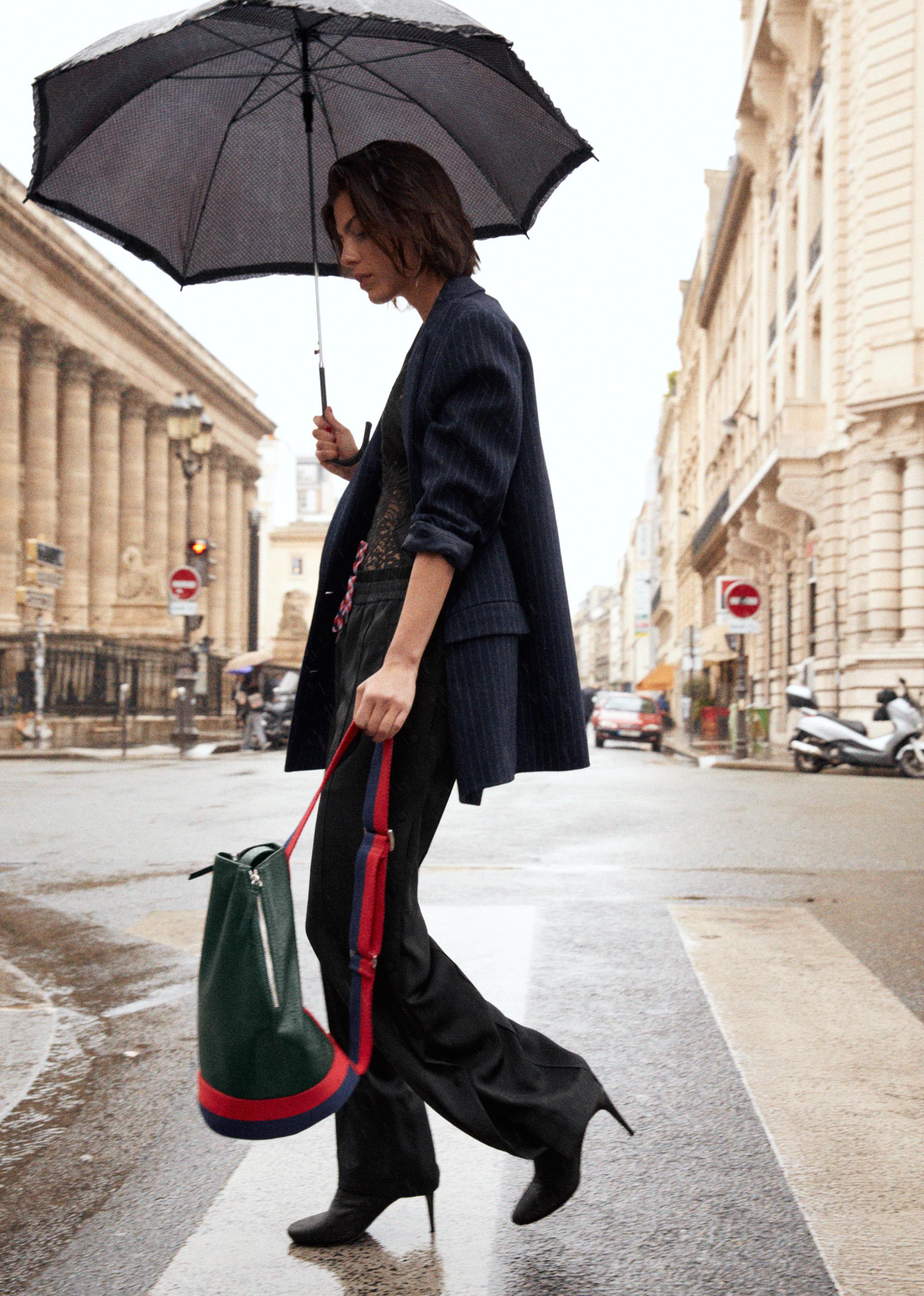 Кожаный рюкзак зеленый
