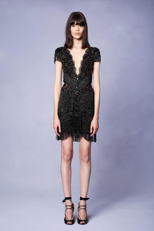 Коктейльное платье 2018 с бахромой