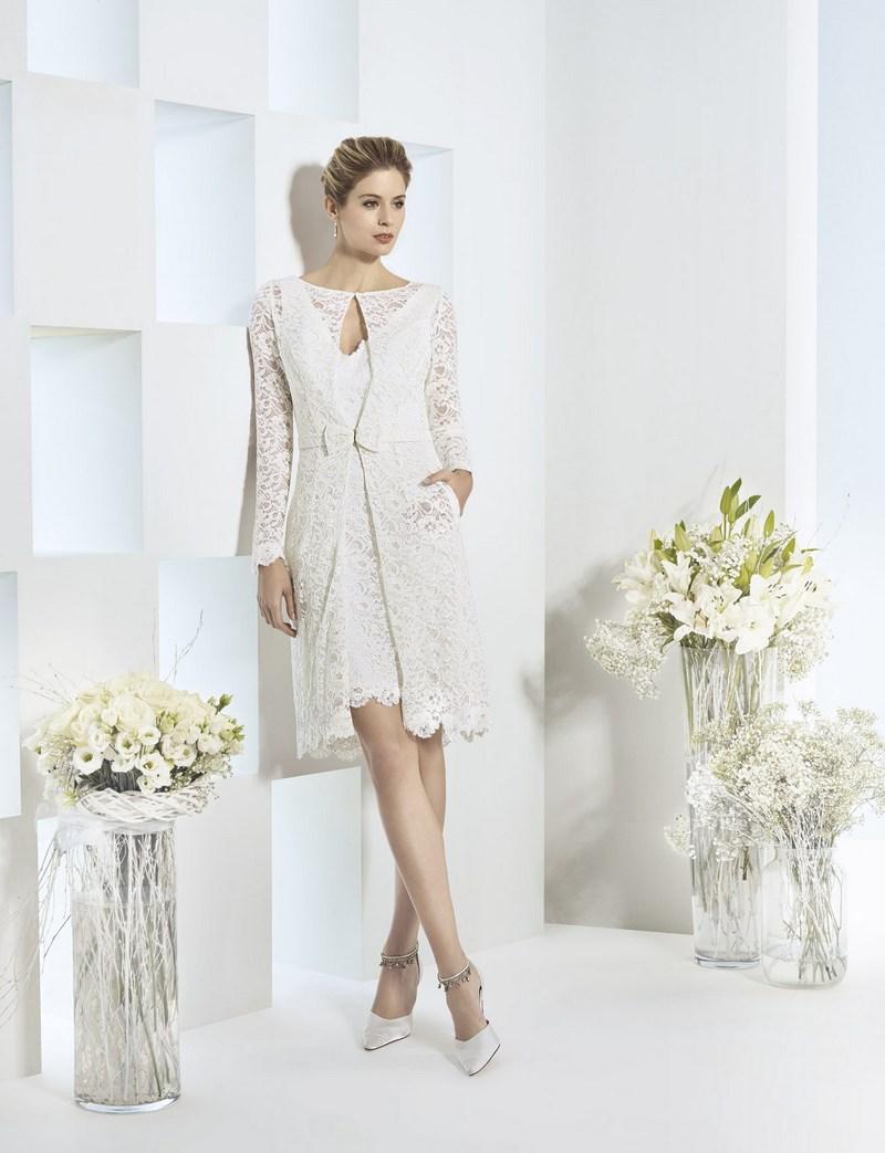 Коктейльное платье 2018 белое
