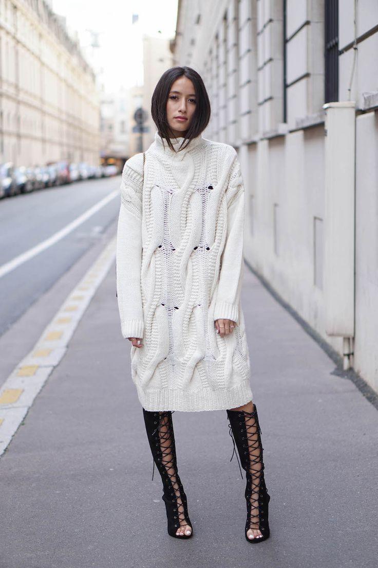 Платье зима 2018 белое