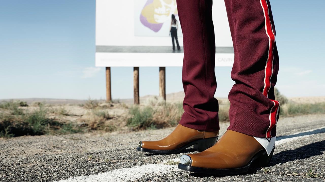 Calvin Klein 2018 ботинки