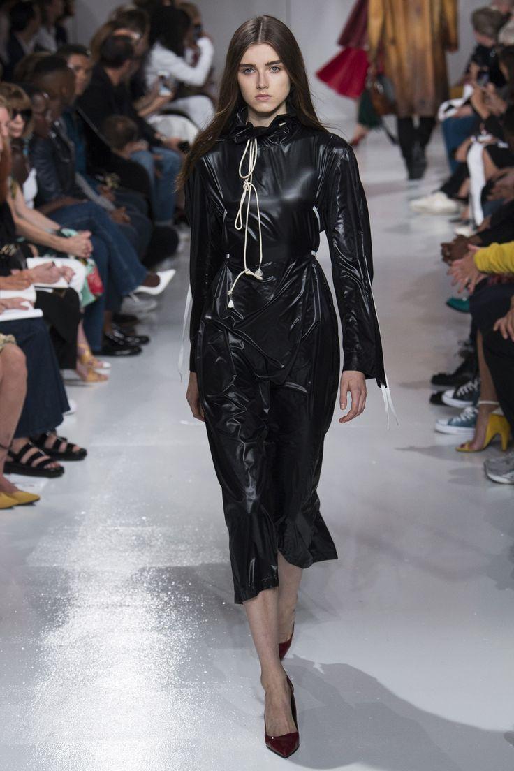 Calvin Klein 2018 черное платье