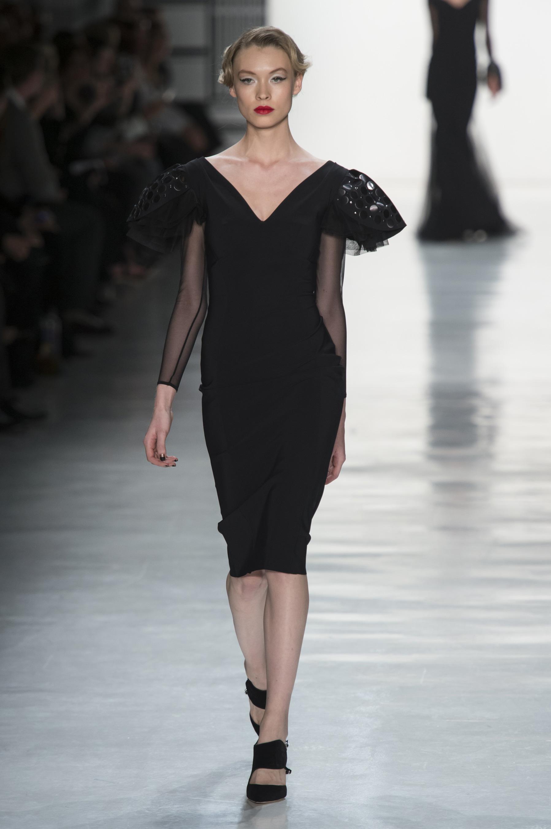 Коктейльное платье 2018 черное