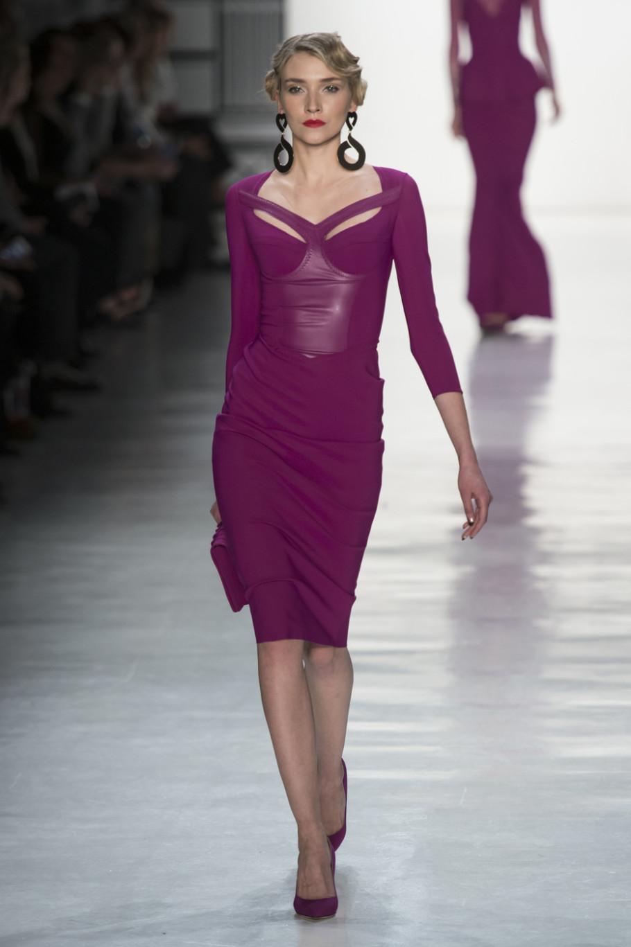 Коктейльное платье 2018 фиолетовое