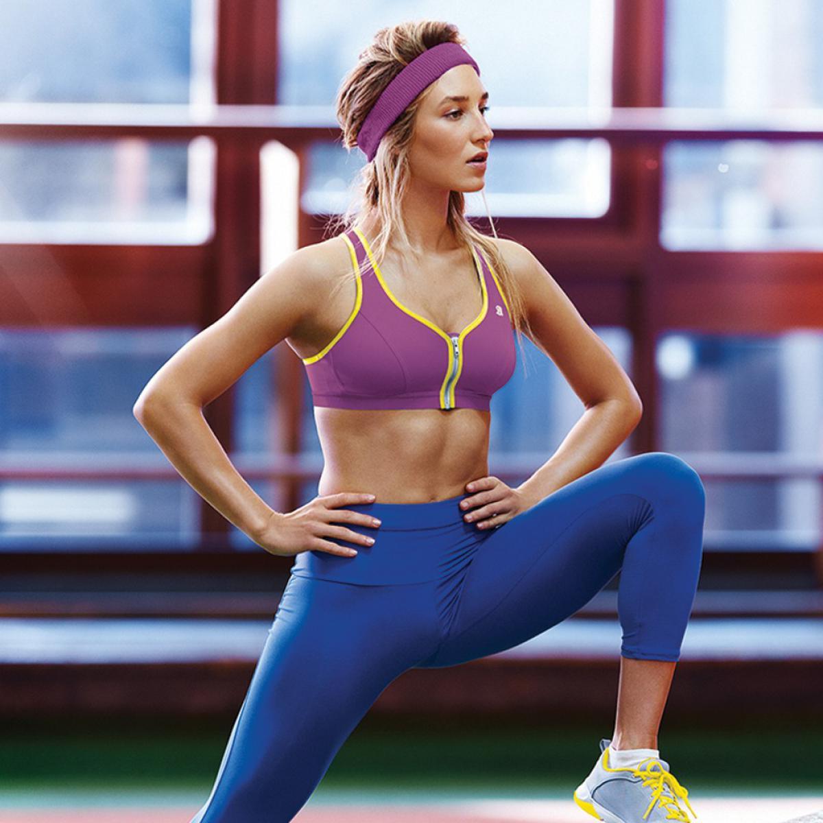 Спортивный бюстгальтер для фитнеса