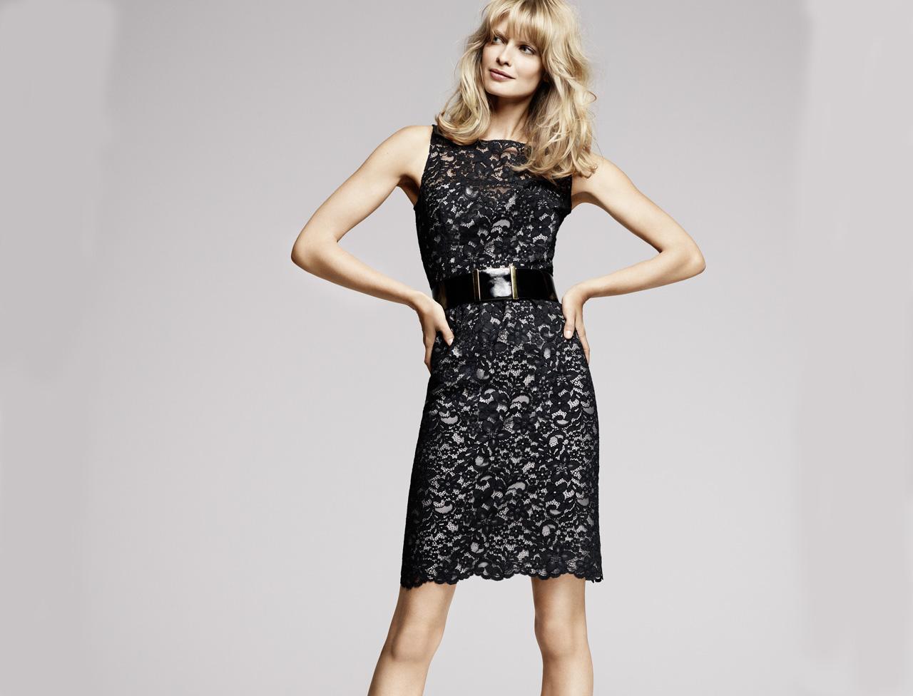 Платье для женщины 40 лет кружевное